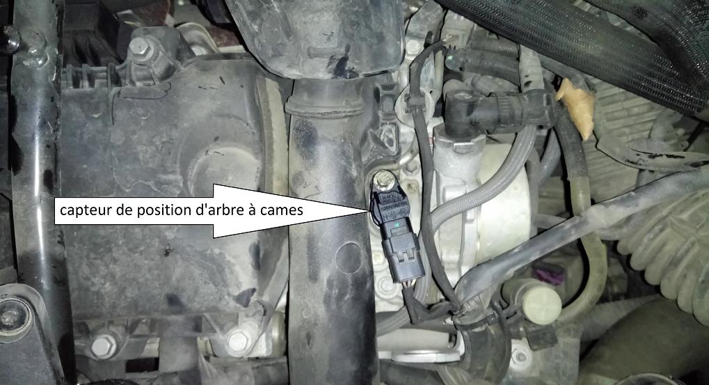 MECANO - Le moteur ne démarre plus  Défaut P0340 DF119