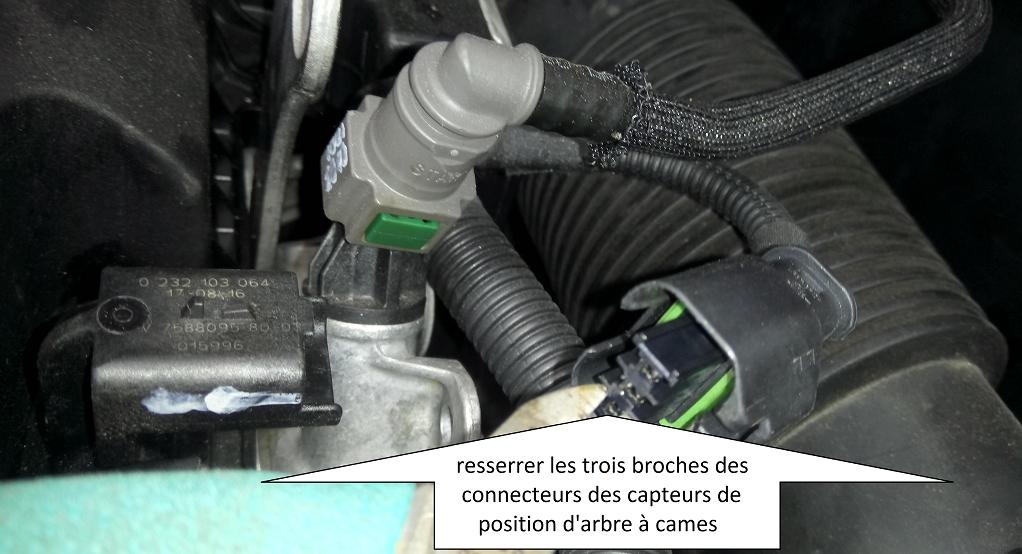 MECANO - Allumage tu témoin moteur, régime moteur instable